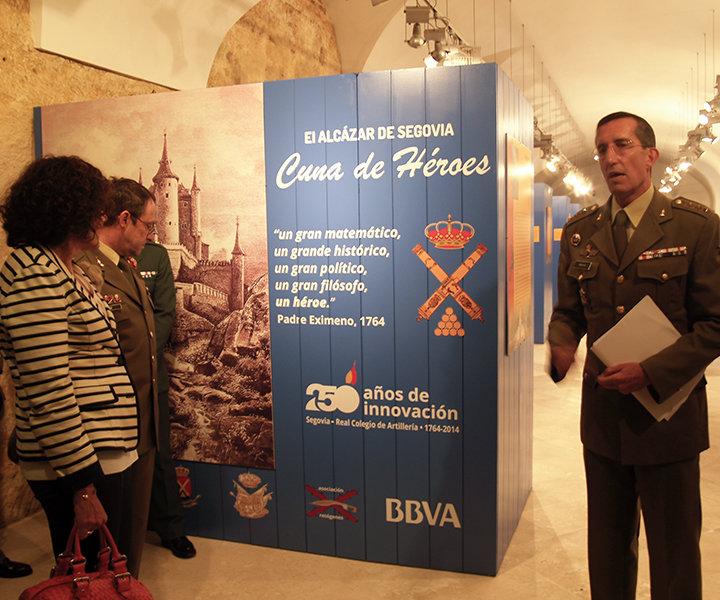 """Exposición """"Cuna de Héroes"""" en el Alcázar de Segovia"""