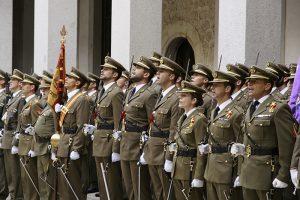 Apertura de curso de la Academia de Artillería