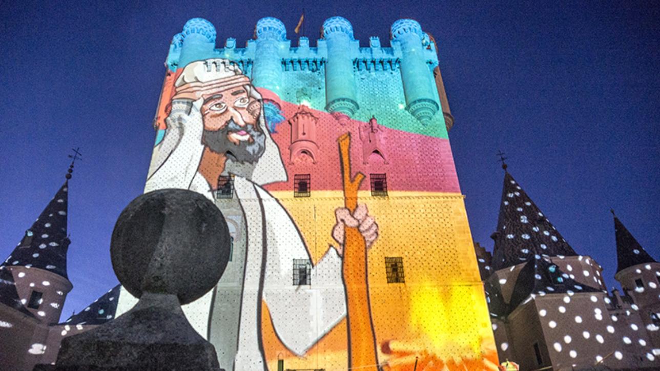 Los Reyes Magos de Oriente acuden a su cita anual en el Alcázar