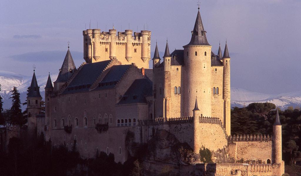 Alcázar de Segovia - Vista frontal