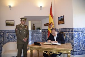 Ban Ki-moon en el Alcázar de Segovia (2)