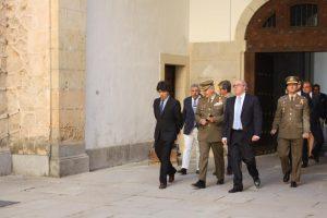 El subsecretario de Fomento visita el Alcázar