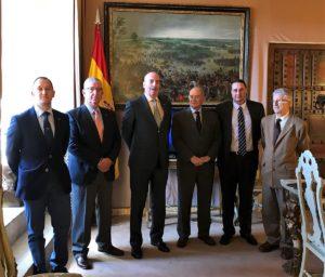 Firma del acuerdo marco entre el Patronato del Alcázar y la Asociación Conde de Gazola