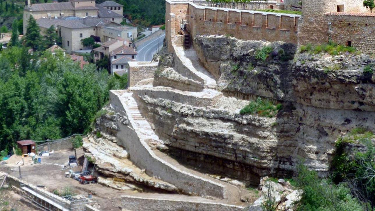 Obras de Restauración en el Alcázar de Segovia