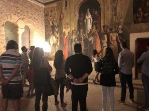 """El @Alcazar_Segovia se sumó ayer a la celebración de la #NocheDelPatrimonio con visitas guiadas, de carácter gratuito, que bajo el título """"Leyendas y personajes del Alcázar"""", ofrecieron al visitante una perspectiva diferente del monumento."""