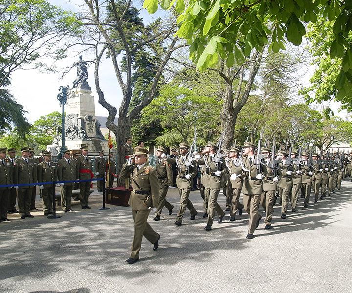 2 de mayo. Acto conmemorativo en homenaje a los capitanes Daoíz y Velarde