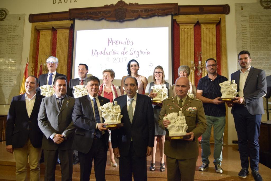 """El Patronato del Alcázar recibe el premio """"Diputación de Segovia, 2017"""" en la categoría de Turismo"""