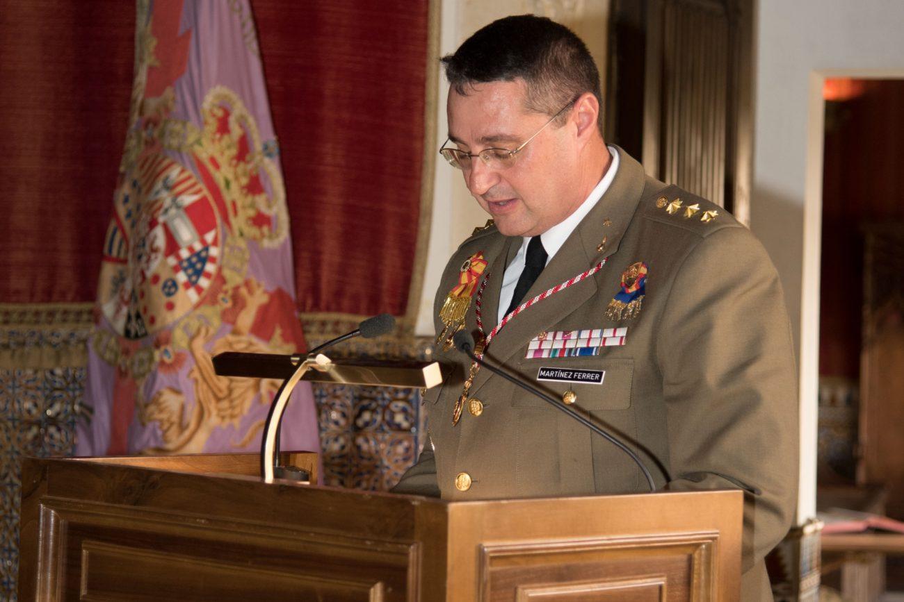 El Coronel Alcaide del Alcázar, Ilmo. Sr. D. José María Martínez Ferrer