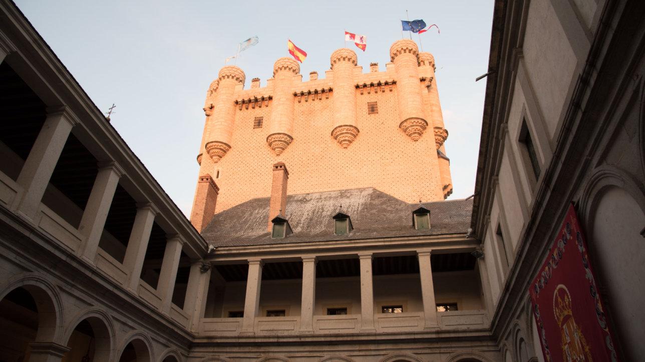 Celebración XXXV Día del Alcázar el pasado 22 de junio en el Alcázar de Segovia