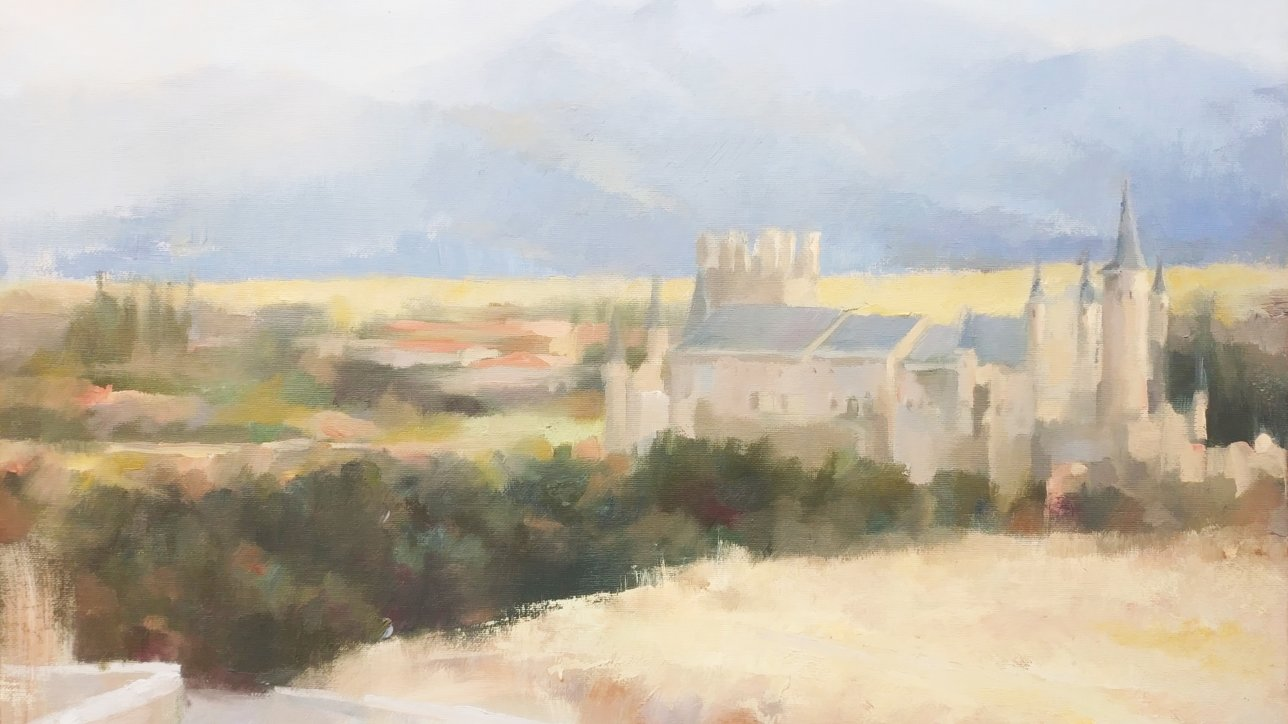 Comienza en Segovia la edición 2018 del Curso de Pintores Pensionados