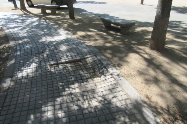 Pavimento cuadradillo cemento 1