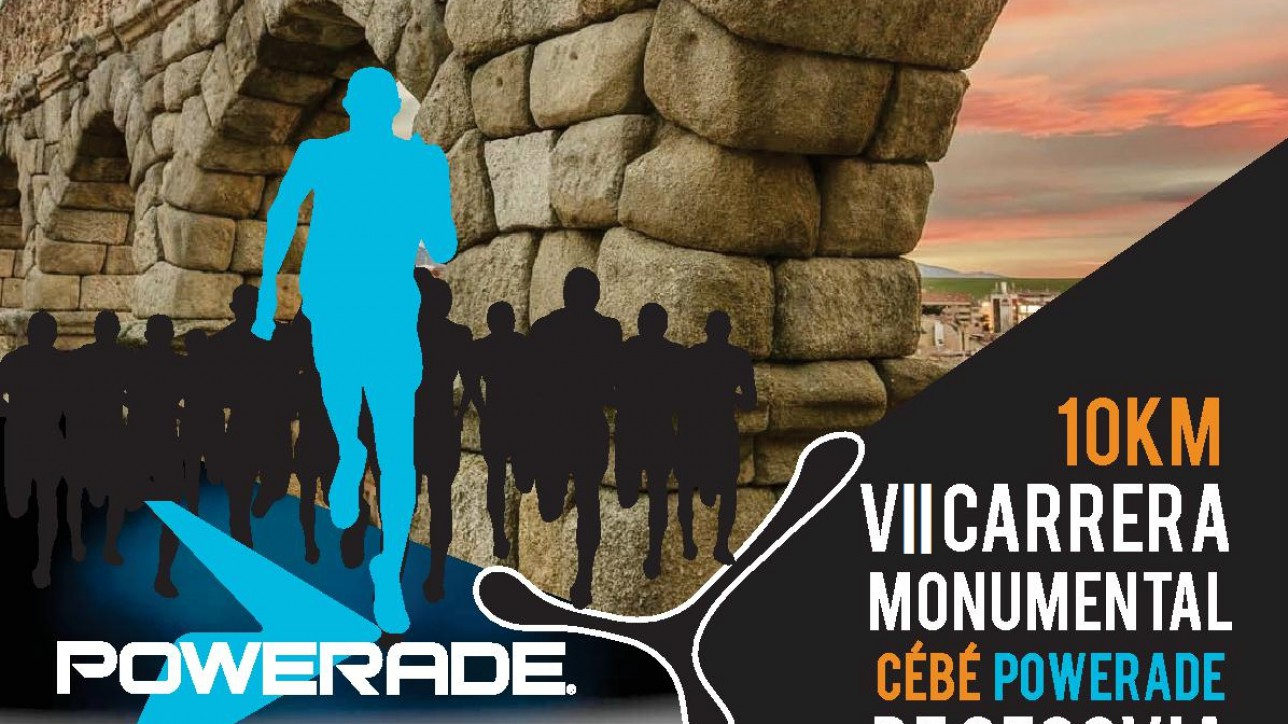 Carrera Monumental Cebé Powerade Ciudad de Segovia