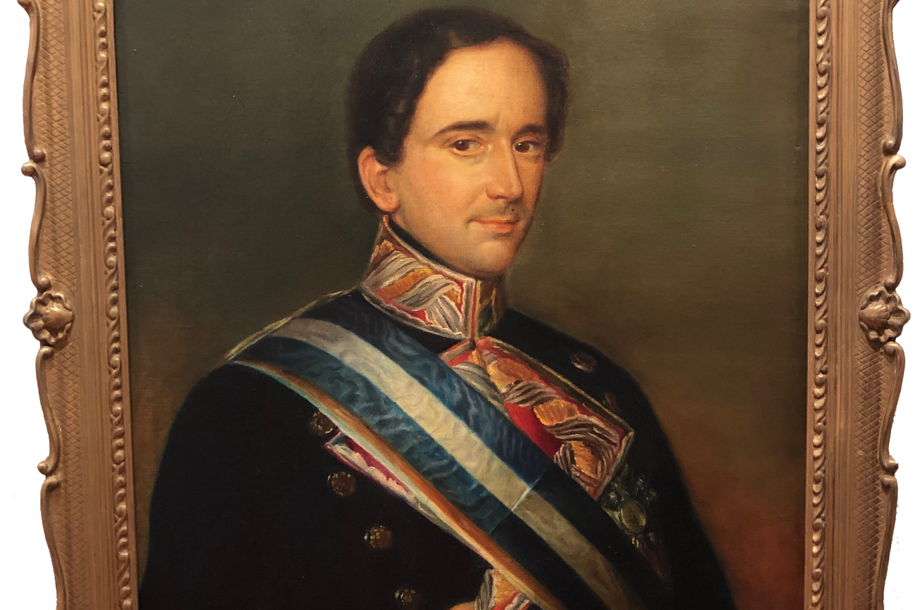 Retrato del General Francisco de Paula Orlando Autor desconocido, s. XIX Copia del original de 1844 Óleo sobre lienzo