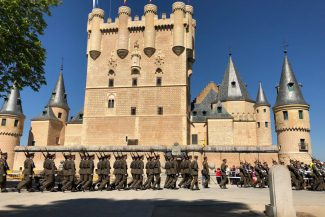 Homenaje a los Héroes del Dos de Mayo de 2019 en el Alcázar de Segovia (2)