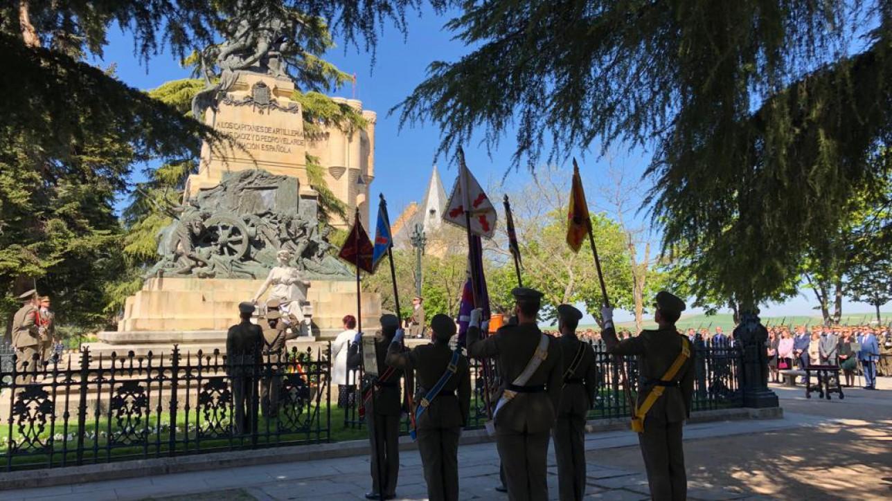 Homenaje a los Héroes del Dos de Mayo en el Alcázar de Segovia