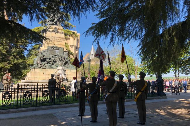 Homenaje a los Héroes del Dos de Mayo de 2019 en el Alcázar de Segovia (4)