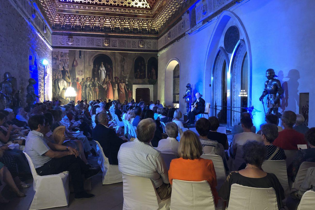Pavel Steidl conquista al público en el Alcázar (2)
