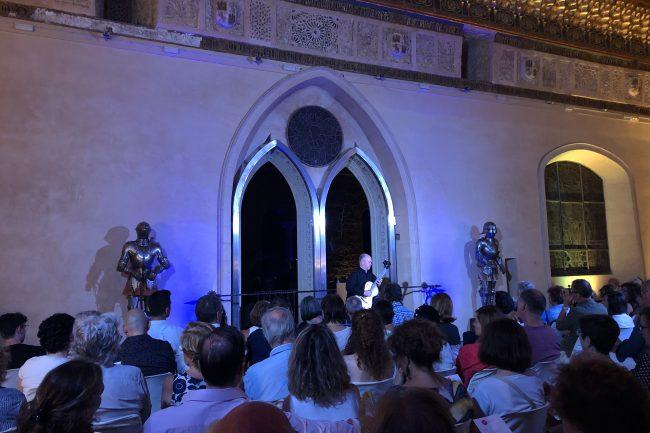 Pavel Steidl conquista al público en el Alcázar (4)