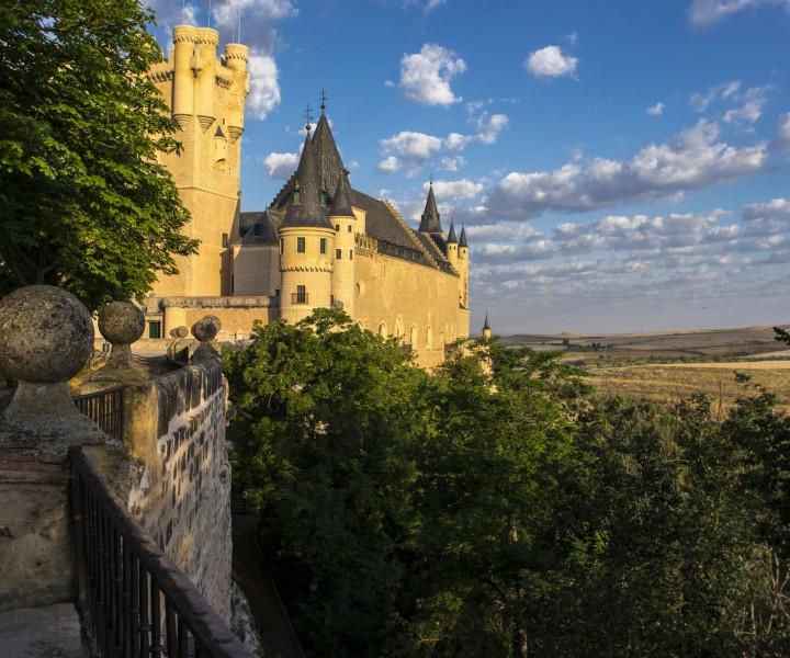 Fachada Norte Alcázar de Segovia