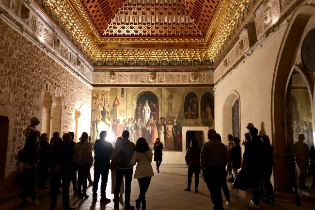 Noche del Patrimonio en el ALcázar 2019 (2)