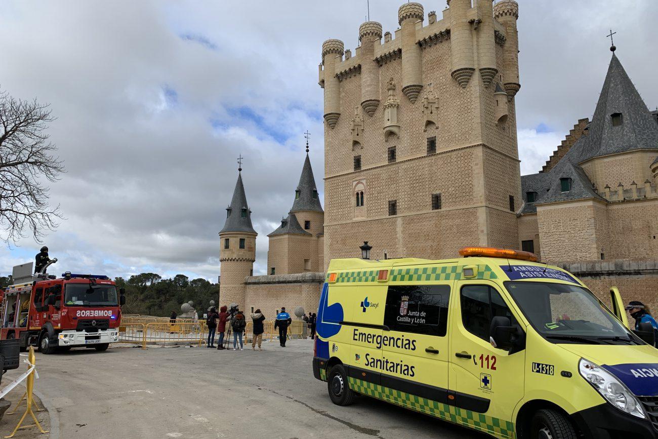 Simulacro de emergencia en el Alcázar 06-03-2020 (2)