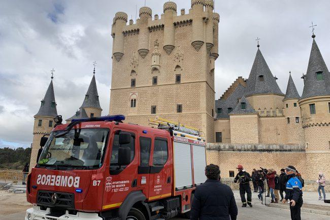 Simulacro de emergencia en el Alcázar 06-03-2020 (3)