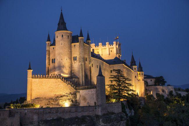 Fotografía Nocturna Alcázar de Segovia (1)