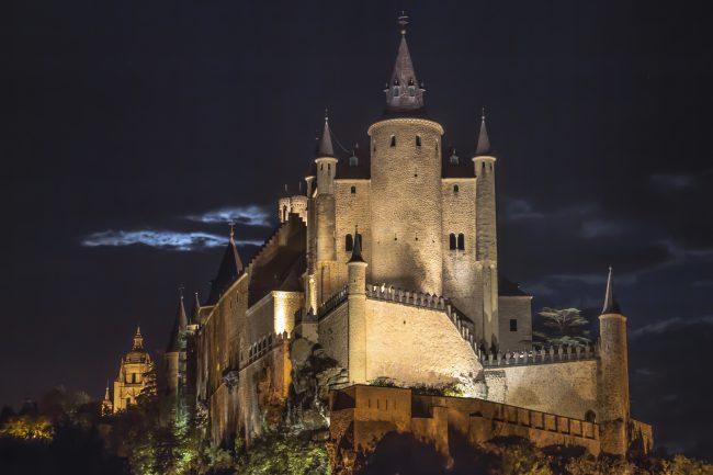 Fotografía Nocturna Alcázar de Segovia