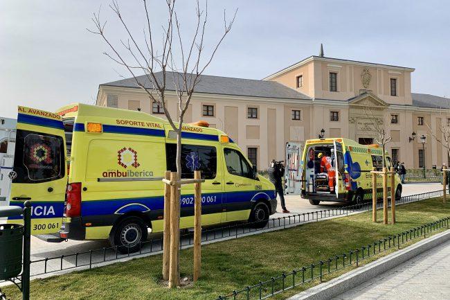 Simulacro de emergencia en el Alcázar (7)