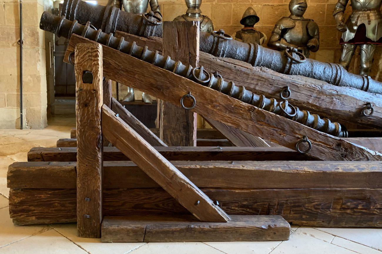 Caña de cerbatana. C. 1500. (Alcázar de Segovia)