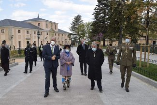 Inauguración de la plaza de la Reina Victoria Eugenia (4)