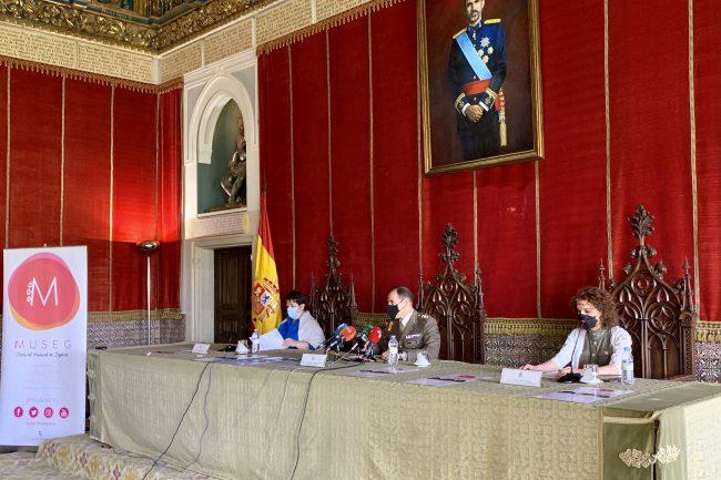 La edición 2021 del Festival Musical de Segovia (MUSEG) ha sido presentada en el Alcázar (1)