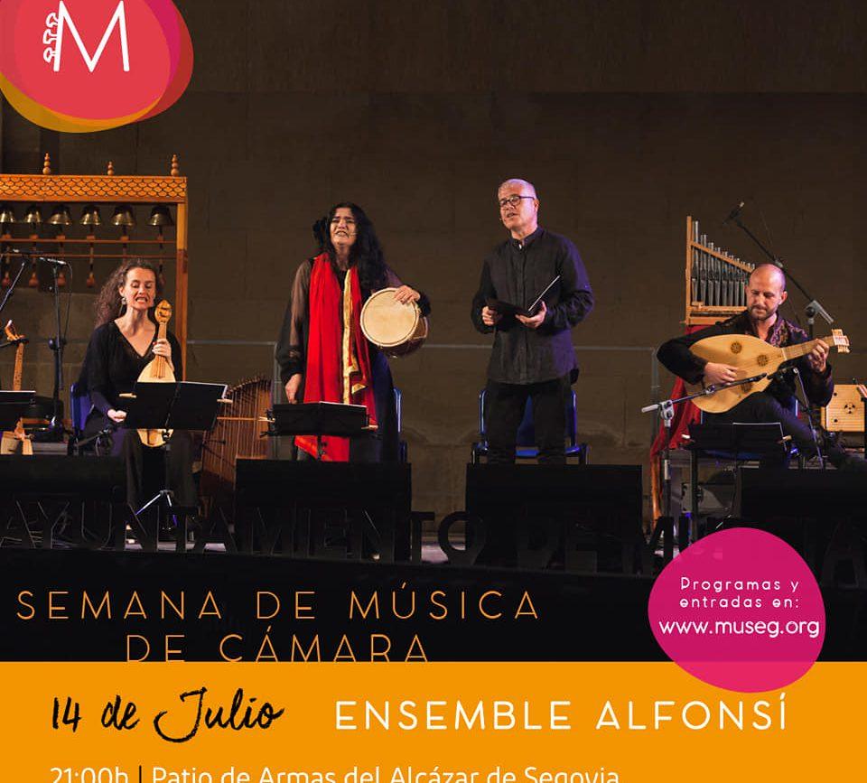La edición 2021 del Festival Musical de Segovia (MUSEG) ha sido presentada en el Alcázar (3)