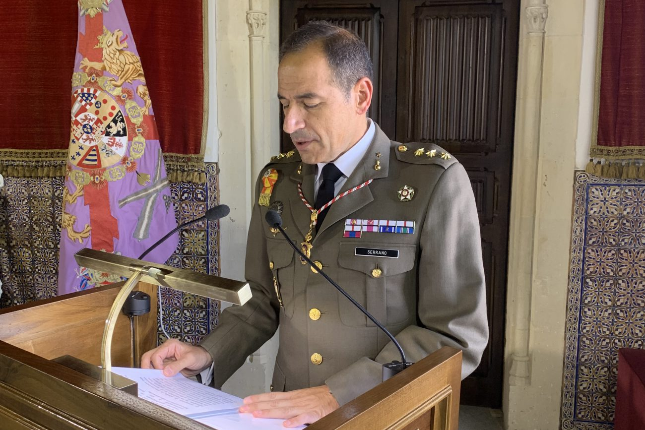 Coronel Alcaide del Alcázar, Ilmo. Sr. D. Alejandro Serrano Martínez